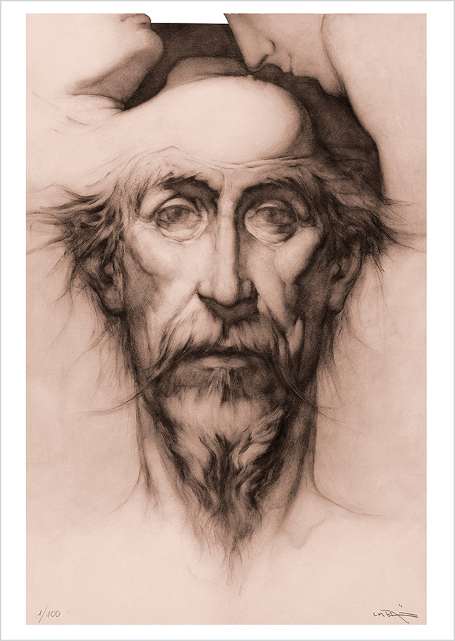 Obra Grafica Don Quijote I - Eros