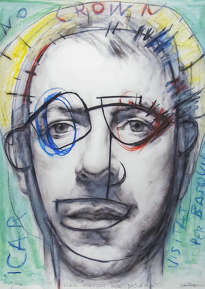 Obra Grafica - Icar Visitat per Basquiat