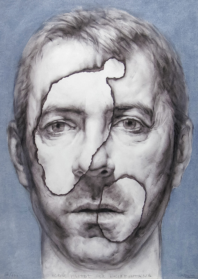 Obra Grafica - Icar visitat per Lucio Fontana