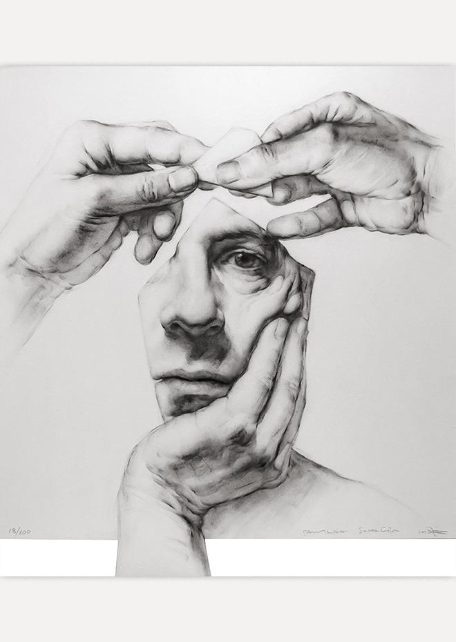 Obra Grafica - Pensador Surrealista