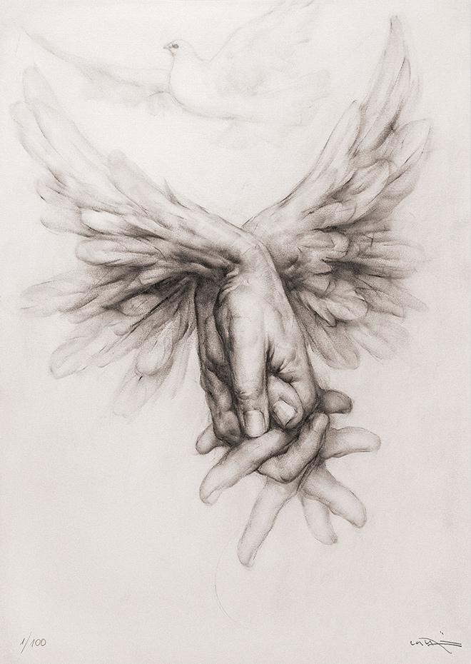 Obra Gráfica Sobre la Pau I